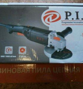 Полировальная машина P.I.T PPO125-d ушм ( болгарка