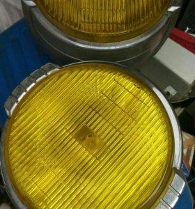 Фары противотуманные родные мицубиси паджеро