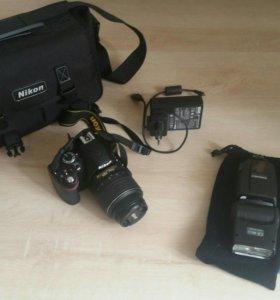 Nikon d3200 с комплектом