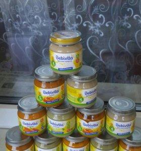 Bebivita овощное пюре