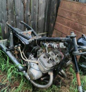 Мотоцикл иж юп 5