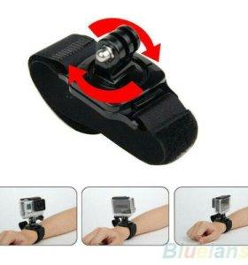 Крепление на руку, ногу - для экшн-камеры.