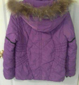 Куртка зимняя от лыжного костюма