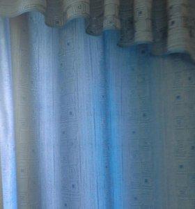 Комлект шторы + ламбрикен
