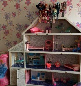 Игровой модуль( домик для кукол Барби)