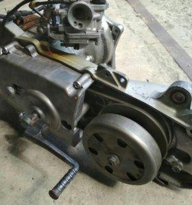 двигатель Suzuki LET'S (скутер)