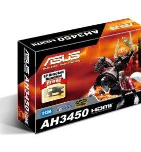 Видеокарта asus AH3450/DI/512MD2(LP)