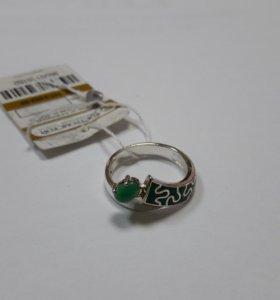 Кольцо серебро 16,5 размер