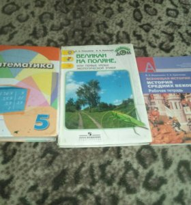 Учебники 5класс,6класс рабочая тетрадь