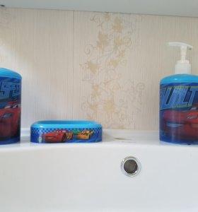 Набор в ванную Тачки