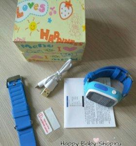 Часы Smart Baby Watch Q90 в ассорт.wifi модуль