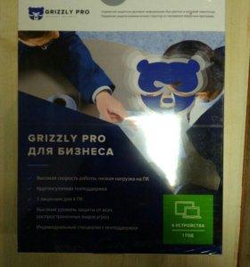 Антивирус Grizzly Pro для Бизнеса,4Пк на 12месецев