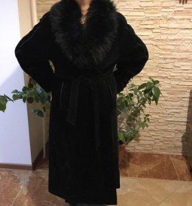 Новое Пальто,Мех лама