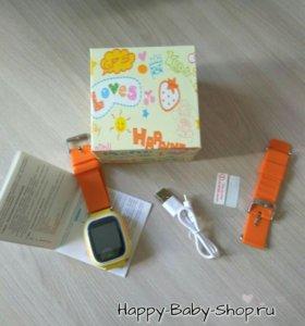 Часы-телефон для школьника с GPS маячком /в ассорт