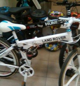 "Велосипед на литых дисках ""Land Rover"""