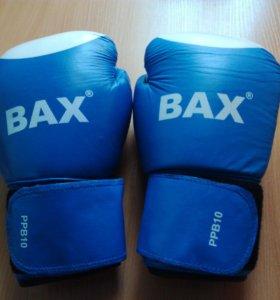 Боксёрские перчатки, кожаные(PPB10) новые
