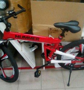 """Велосипед на литых дисках """"Hummer"""""""