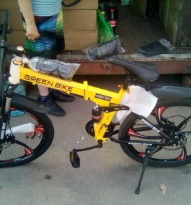 """Велосипед на литых дисках """" Гринн Байк"""""""