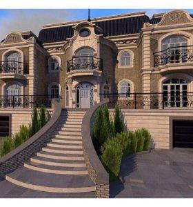 Строим роскошные кирпичные дома под ключ!
