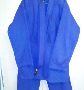Кимоно для дзюдо Firuz Standart (синее)