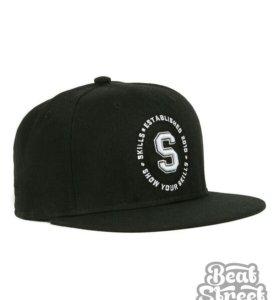 Бейсболка Skills 05 - черная