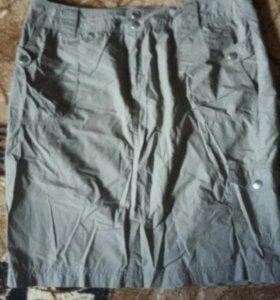Юбка из легкой ткани