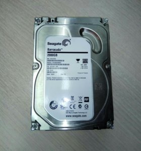 Жесткий диск HDD Seagate Barracuda 2000GB