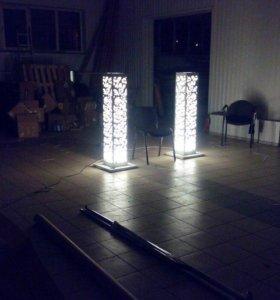 Светильники напольные