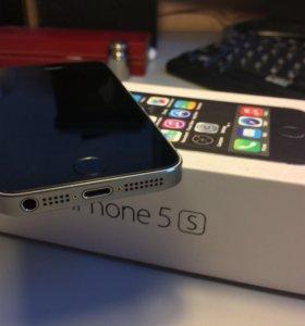 iPhone 5s space Gray (16)(в отличном состоянии)