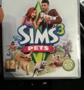 Продам симс pets на ps3