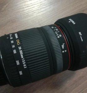 Объектив Sigma 28-300mm для Canon
