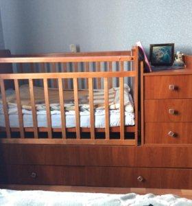 Кровать трансформер детский