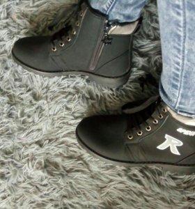 Ботинки , новые осень размеры 37