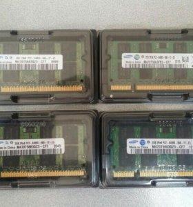 оперативная память для ноутбука ddr2 2Gb Samsung