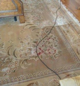 Чистка ковров ручной работы
