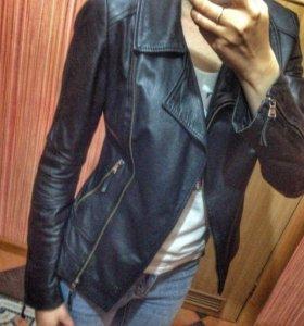 Натуральная кожаная куртка - Косуха
