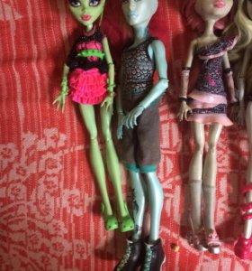 Куклы Monster Hight б/у