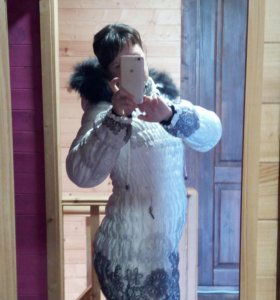 Одежда для беременных ПУХОВИК 42-44