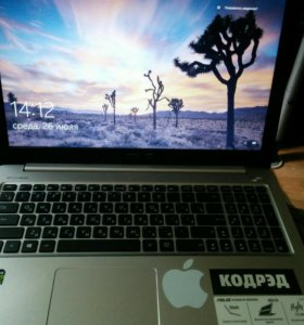 Ноутбук Asus k501uw 50к за нал (Челик,Екб привезу)