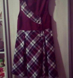 школьный сарафан и пиджак