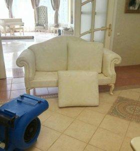 Химчистка шелковой мебели на дому