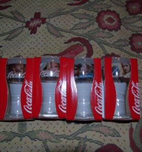 Стаканы Coca-Cola 2016 новые. Доставка бесплатно