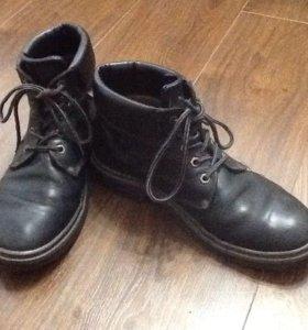 Ботинки натуральная кожа 44р