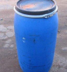 Бочки пластиковые строительные 160 л б/у