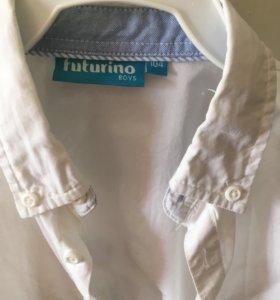 Белая рубашка р.104