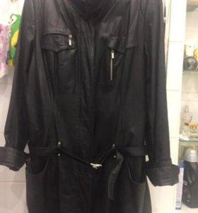 Женская кожаная куртка р.52-54