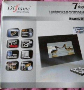 Цифровая ф.рамка DIFRAME DF-F7X