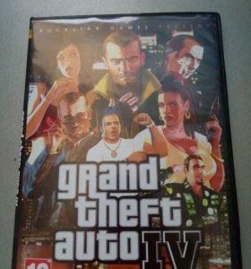 Диск с игрой GTA IV