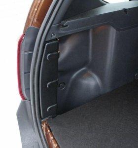 Накладки на бок стойки багажника Renault Duster