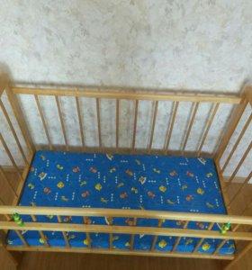 Кровать детская - маятник